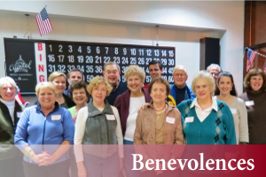 Benevolences at Pilgrim Congregational Church