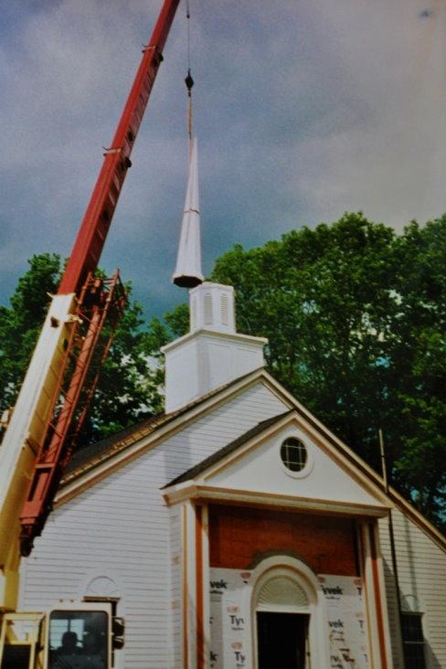 Pilgrim Congregational Church Steeple